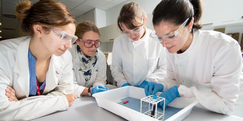 Lab Skills course at Napier University's Sighthill Campus