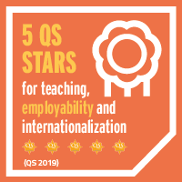 QS stars in teaching, employability and internationalisation