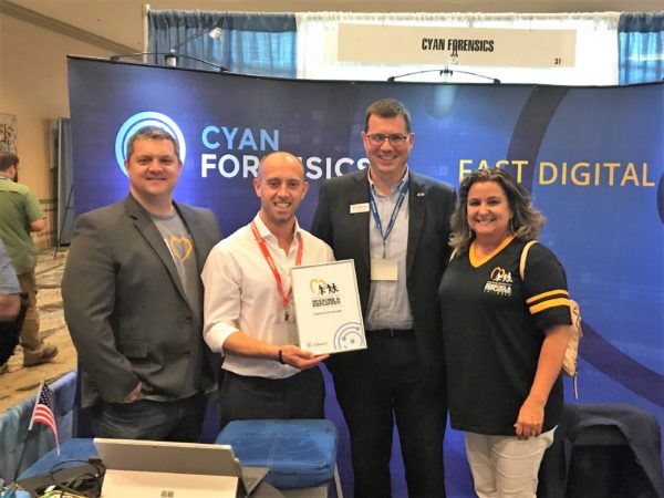 Cyan Forensics and NCMEC announced the partnership at the Crimes Against Children Conference in Dallas, Texas