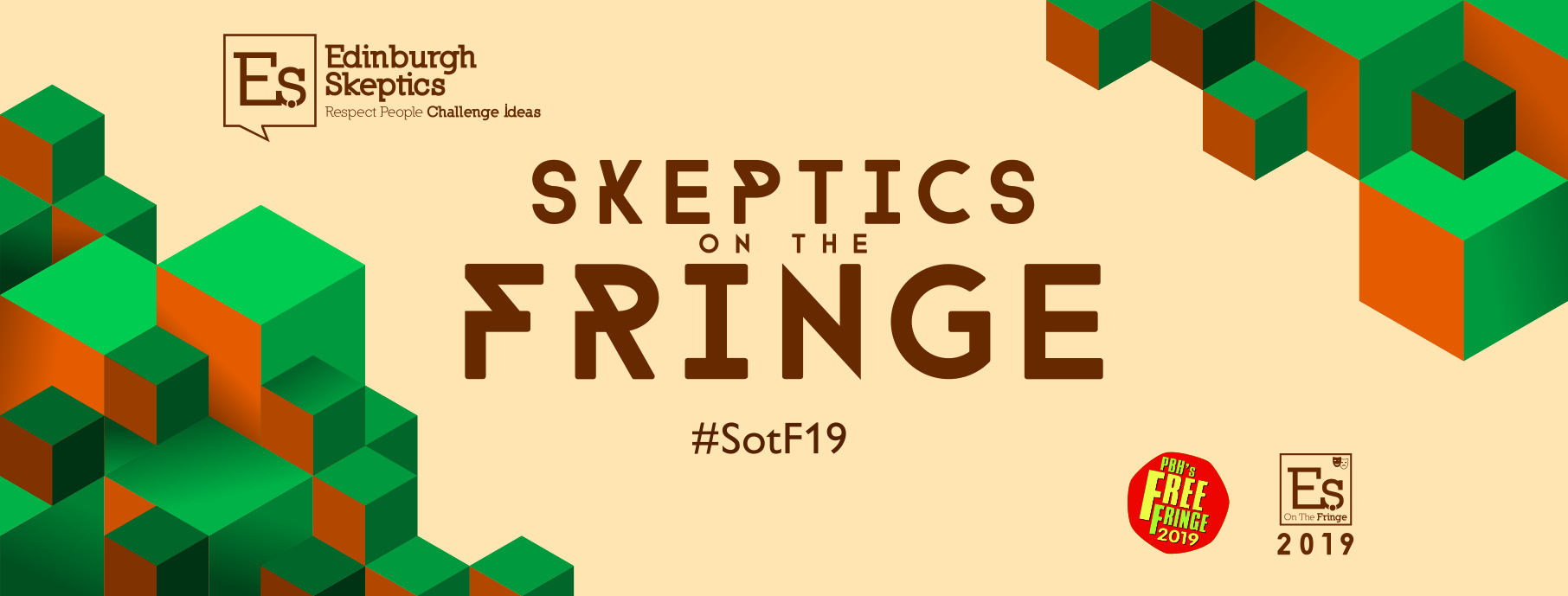 Skeptics on the Fringe poster