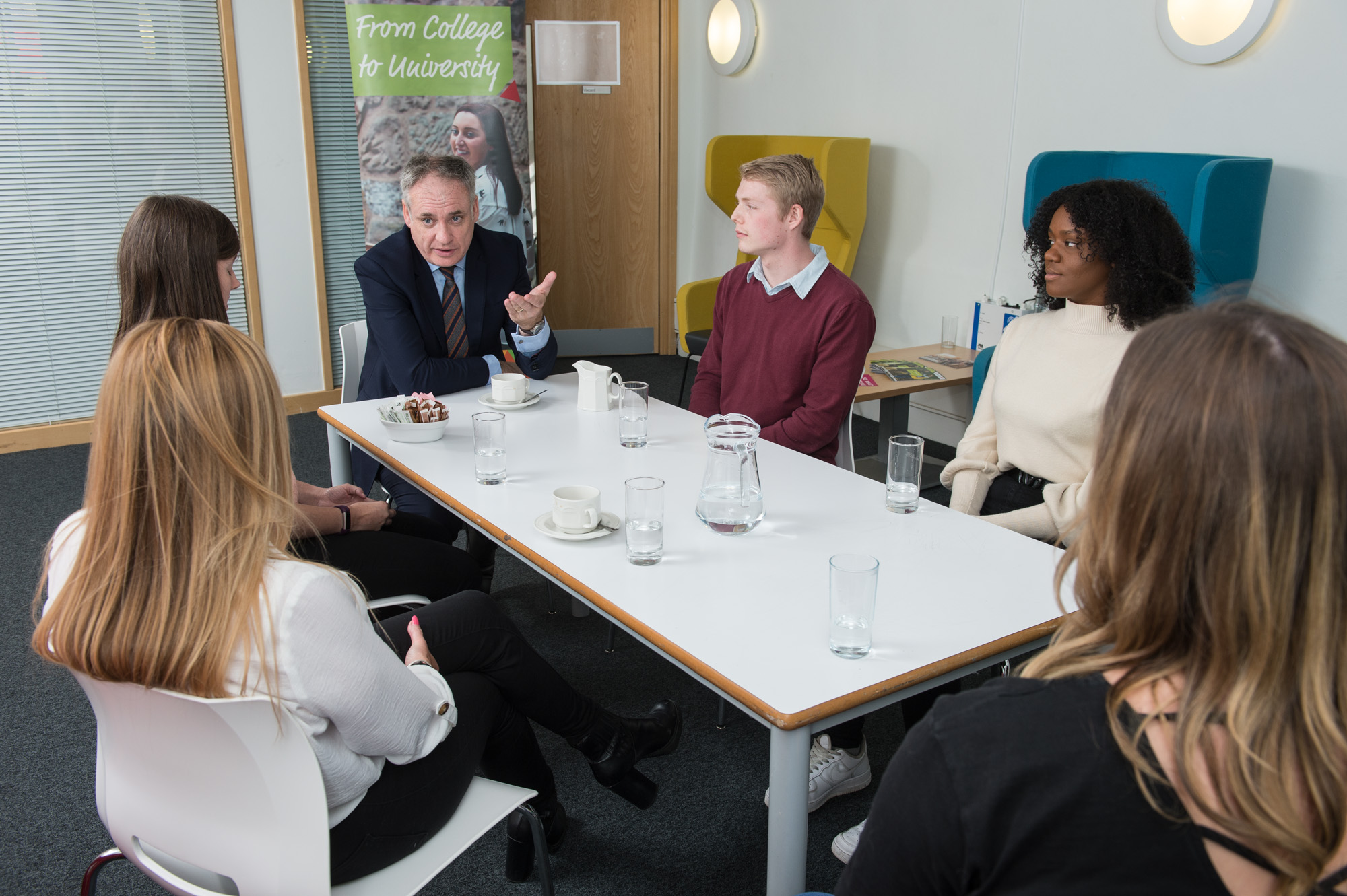Students meet Richard Lochhead MSP and Minister for Education