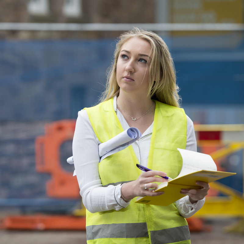 Quantity Surveying student Alanna Miller