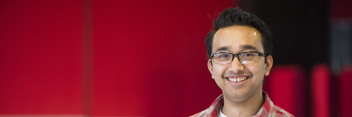 Sagar (Casey) is from Nepal and is studying BA (Hons) Business Management