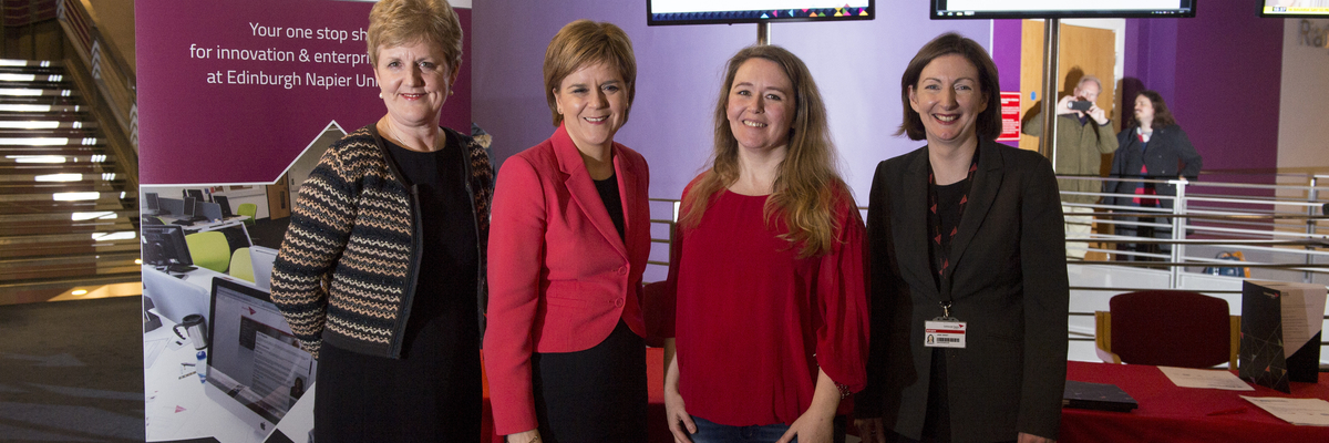 Girl Geeks event with Nicola Sturgeon