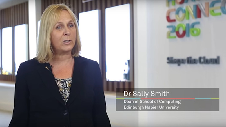 Sally Smith talks about the Huawei Technologies link up