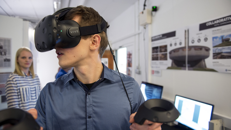 Virtual reality | Edinburgh Napier University
