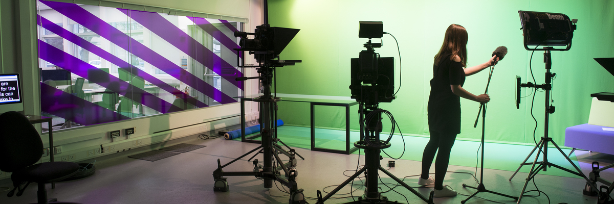 The Broadcast Studio at Merchiston Campus | Edinburgh Napier University