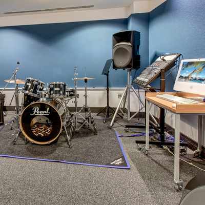Recording studio | Edinburgh Napier University