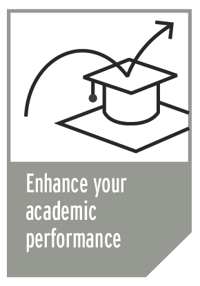 Academic performance info graphic