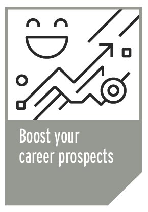 Career prospects info graphic